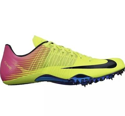 huge discount 80237 05aa8 Nike Mens Zoom Celar 5 Sprint Track Spikes Shoes Volt Pink 629226-999 Size  11