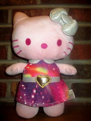 23d05e0b6565 Hello Kitty Pink 12 Inch Plush Animal Collectible Galaxy Space Heart Doll