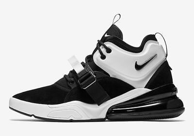 new arrival dcb32 a4b89 Nike Mens Air Force 270 NEW AUTHENTIC BlackWhite-Black AH6772-006 SZ