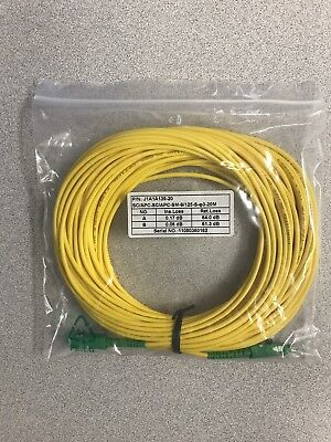 SC/SC Duplex  9/125 Single Mode - 20 meter - Fiber Patch Cable