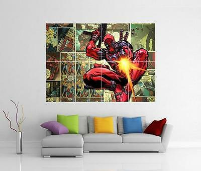 Deadpool Marvel Giant Wall Art Photo Print Picture Poster