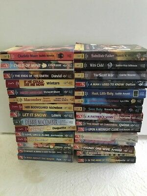 Lot Of 30 Harlequin Super Romance paperbacks