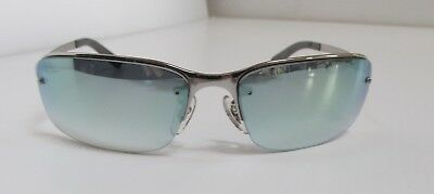 de39659983 BRAND NEW RAY Ban RB 3217 003 Z1 58 15 Mirrored Rimless Sunglasses ...