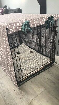 Dog Crate Covers - made to measure Covers for dog crates/cages - Large