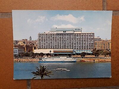 Egypt  - Cairo : Nile Hilton Hotel And The Isis Floating Hotel --------- 10938