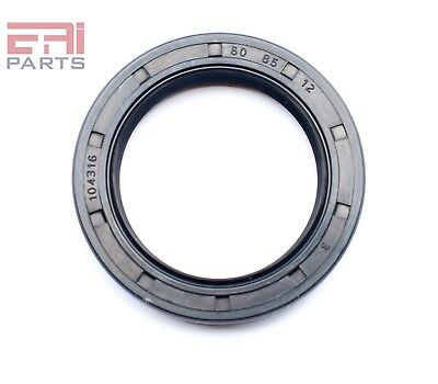 EAI Oil Seal TC 60X85X12 Rubber Double Lip w/ Spring 60mmX85mmX12mm