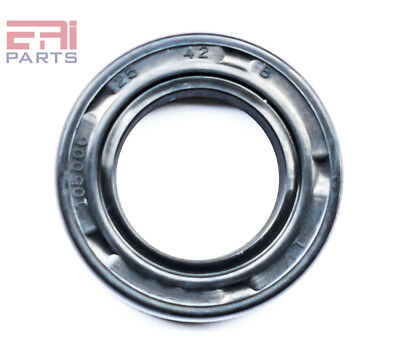 EAI Oil Seal TC 25X42X8 Rubber Double Lip with Spring 25mmX42mmX8mm