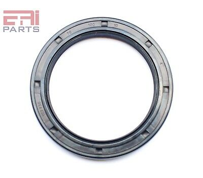 EAI Oil Seal TC 75X100X10 Rubber Double Lip with Spring 75mmX100mmX10mm
