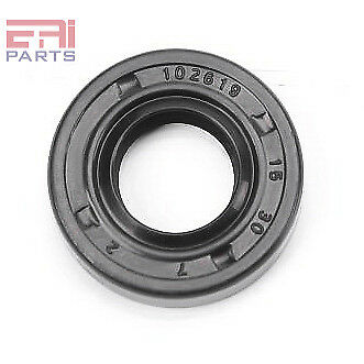Oil Seal TC 15X30X7 Rubber Double Lip with Spring 15mmX30mmX7mm (2 Pieces)