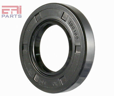 Oil Seal TC 30X55X10 Rubber Double Lip with Spring 30mmX55mmX10mm (2 Pieces)