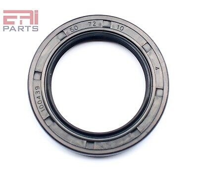 EAI Oil Seal TC 50X72X10 Rubber Double Lip w/ Spring 50mmX72mmX10mm