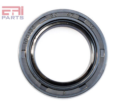 EAI Oil Seal TC 30X47X10 Rubber Double Lip with Spring 30mmX47mmX10mm
