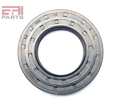 EAI Oil Seal TC 55X100X10 Rubber Double Lip with Spring 55mmX100mmX10mm