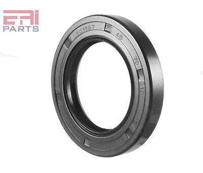 EAI Oil Seal TC 45X70X10 Rubber Double Lip w/ Spring 45mmX70mmX10mm