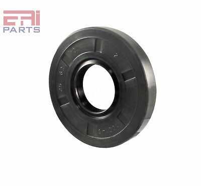 EAI Oil Seal TC 25X62X10 Rubber Double Lip w/ Spring 25mmX62mmX10mm