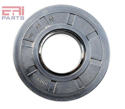 EAI Oil Seal TC 30X72X10 Rubber Double Lip with Spring 30mmX72mmX10mm