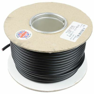 1mm² 2-Core Round Twin Thin Wall Cable Wire 32/0.2mm 30M