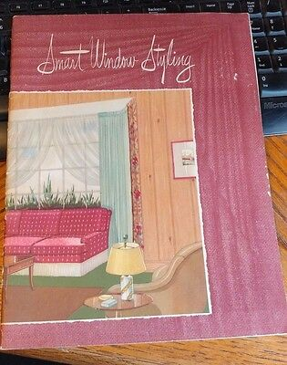 VINTAGE KIRSCH COMPANY WINDOW STYLING BOOKLET  STURGIS MICHIGAN interior design