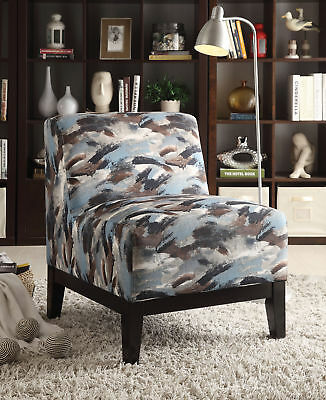 Magnificent Acme Zarate Accent Chair In Multi 182 35 Picclick Alphanode Cool Chair Designs And Ideas Alphanodeonline