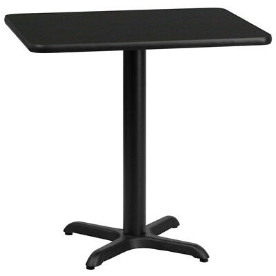 Flash Furniture 24'' x 30'' Rectangular Black Laminate Table
