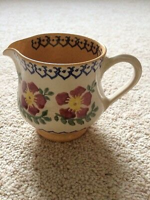 Nicholas Mosse Irish Studio Pottery Milk Jug Perfect Condition Spongeware