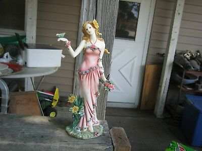 2004 home interiors figurine summer from the four season series