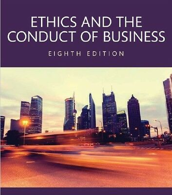 Ethics and the Conduct of Business by John R. Boatright (8th edition, PDF)