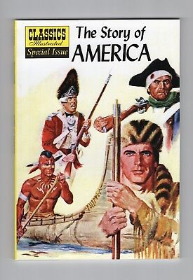 "Classics Illustrated:  Special Issue ""The Story of America"" #132A"