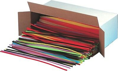 CLI CHENILLE STEMS 12IN Assorted Colors 65490~1000 Pcs NEW Open Box