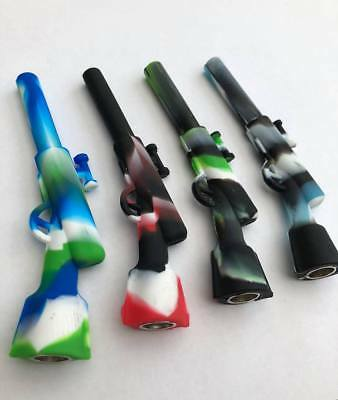 High Quality Rifle Shape Portable Smoking Pipes - Novelty Pocket Size Pipe!