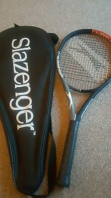 Slazenger Pro Tennis Racket  Grip L2  NEW WITH COVER  COVER BLEMISH TO PAINT