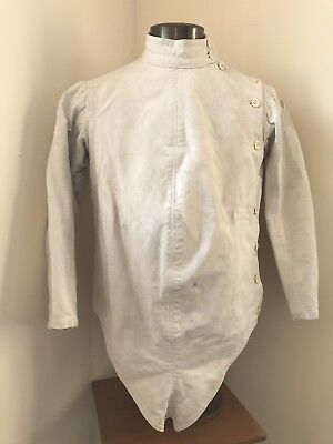 Rare Late 19th Early 20th Century Vintage French Fencing Jacket Paris Made