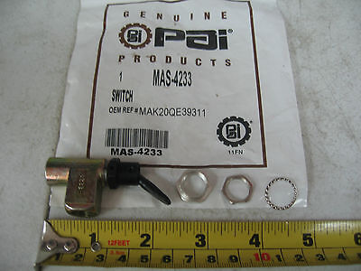 Air Control Valve Toggle Switch # MAS-4233 Ref.# Mack 20QE39311 Red Dot RD538270