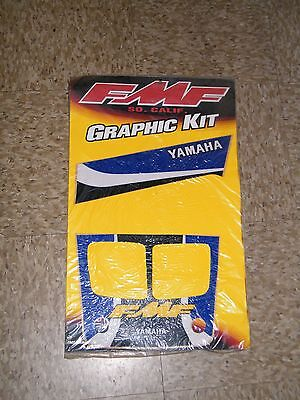 FMF Yamaha Banshee Fender Graphics Plastics Decals Stickers Kit Set 7183451