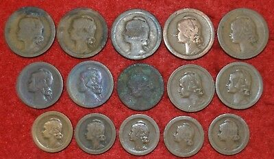 PORTUGAL LOT OF 15 coins /  5 /  10 and 20  Cent. /   Lote Nº 36