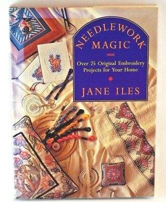 Needlework Magic Embroidery Craft Projects for Your Home House and Garden Crafts