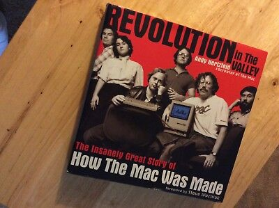 Revolution in the valley . How the Mac was made  1st Ed!🍎🍎🍎