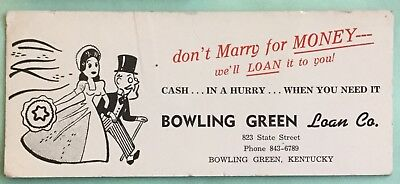 Bowling Green Loan Co., Bowling Green, Kentucky Ink Blotter