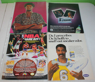 Vintage NBA Basketball Print Ad and Magazine Cutout Part A | You Pick