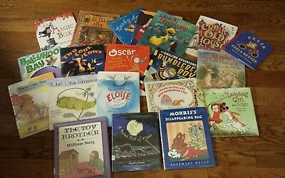 Children Lot 20 Picture Books Elementary 1st 2nd Grade Classroom