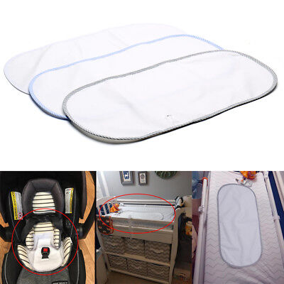 Waterproof Baby Nappies Change Mat Cover Wipeable Allergy-free Portabe 24 inches