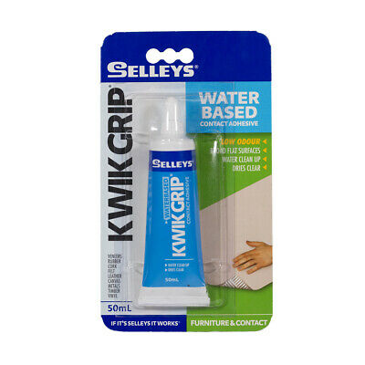 KwikGrip Advanced Water Based High Strenght Multi-purpose Contact Adhesive Dries
