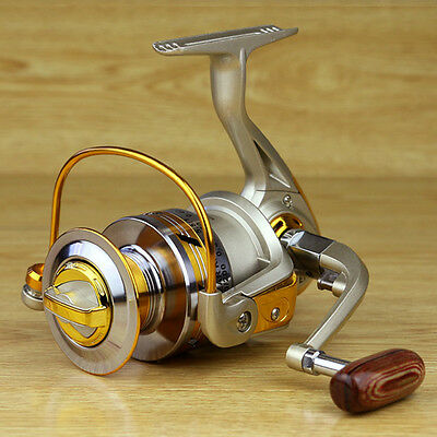 10BB Ball Bearing Saltwater Freshwater Fishing Spinning Reel 5.5:1 EF1000-7000