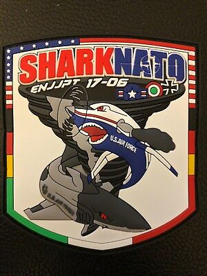 USAF Patch: Pilot Training Class 17-06 ENJJPT Sheppard AFB Sharknato