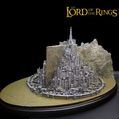 The Lord of The Rings LOTR Minas Tirith Full View Environments Resin Statue