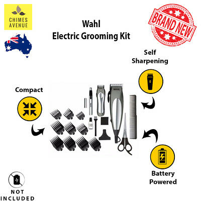 Deluxe Groom Haircutting Tool Set | PREMIUM QUALITY | with Battery Trimmer