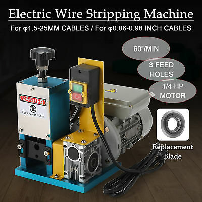 Metal Scrap Cable Stripper Portable Electric Wire Stripping Machine Recycle Tool