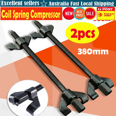 2X 380mm Coil Spring Compressor Clamp Heavy Duty Truck Auto Installer Tool