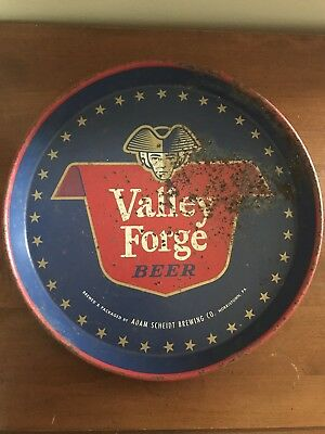 Vintage Valley Forge Beer Tray  Adam Scherdt Brewing Co Norristown PA