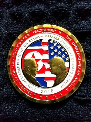 Pre-Sale Limited Edition Singapore Peace Summit Commemorative Coin w/free coin